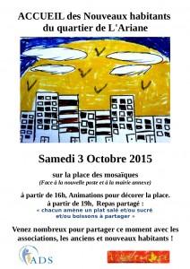 Proposition affiche repas partagé du 3 octobre 2015